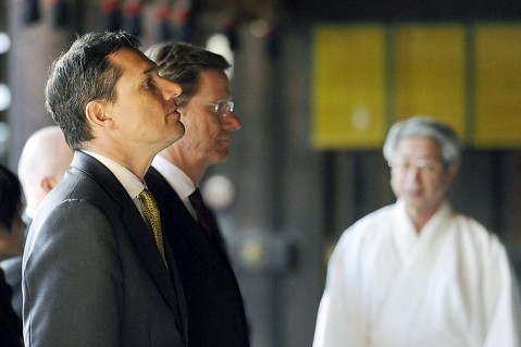Germany's Gay Foreign Minister Guido Westerwelle Brings His Partner to China (And Nobody Cares?)