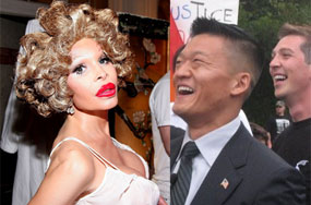 A Tale of Two Cities' Gay Prides: Dan Choi v. Amanda Lepore