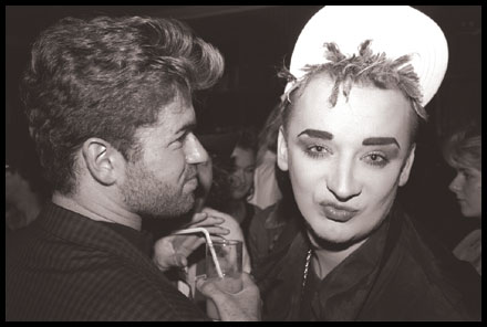 Boy George + George Michael On Semi-Good Terms 2 Decades After You Stopped Caring