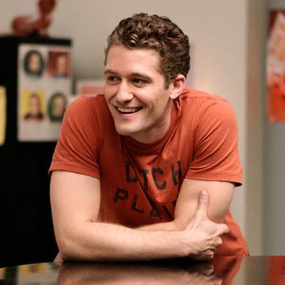 Glee's Matthew Morrison Will Tell You Very Politely He's Straight. Until You Start Being a Dick About It