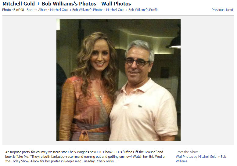 Chely Wright's Coming Out Story Now Slapped All Over Facebook Like a Cheap Trick