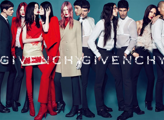 New This Fall From Givenchy: Trans Models