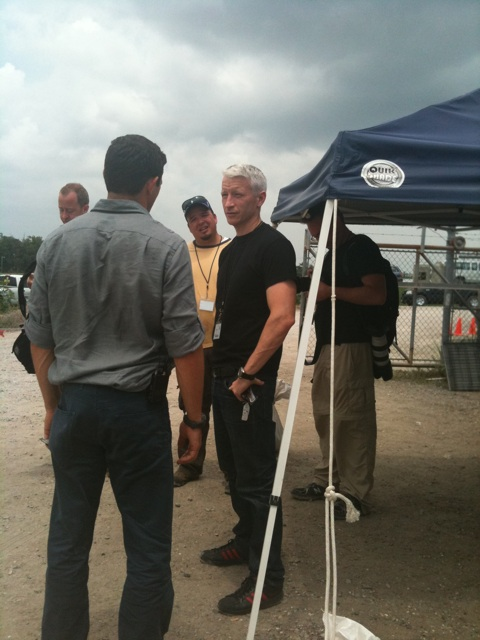 Anderson Cooper's Balls to the Walls Gulf Oil Coverage Isn't Helping His Ratings