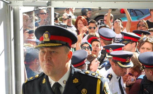 Gays Rebuff Toronto Police Chief Bill Blair's Attempt to Enjoy an Afternoon Cocktail With the Queers