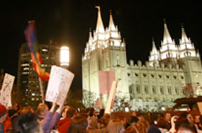 "Mormon Church ""Remains Irrevocably Committed To Strengthening Traditional Marriage Between A Man And A Woman"""