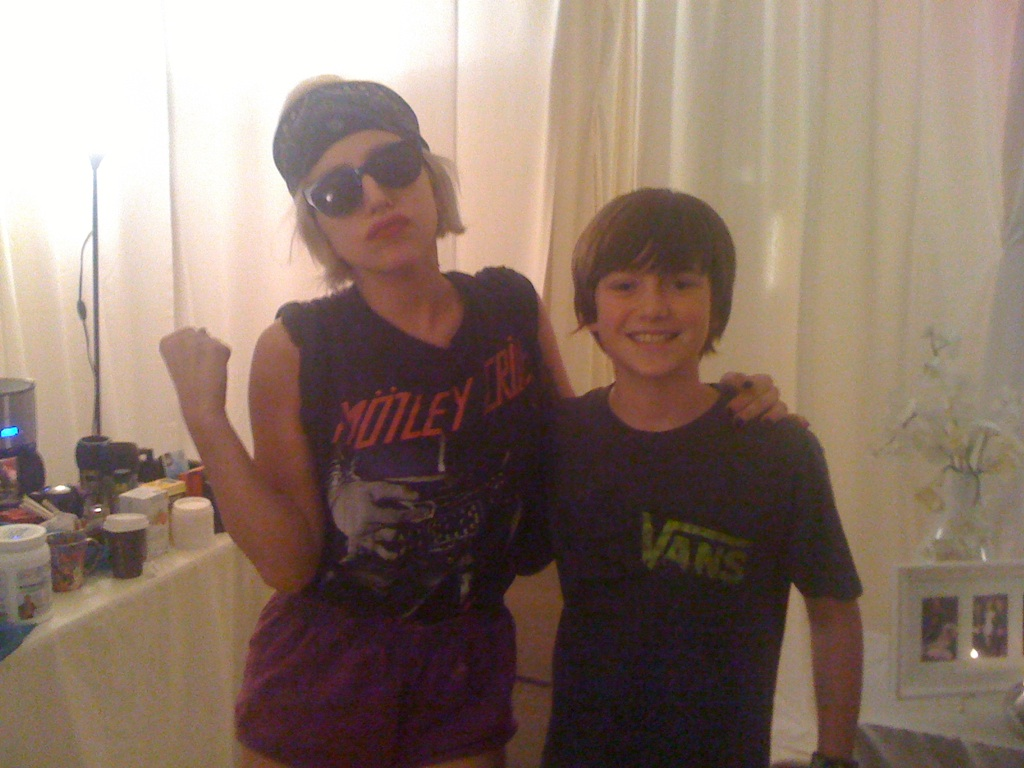 Greyson Chance's Real Life Paparazzi Moment With Lady Gaga