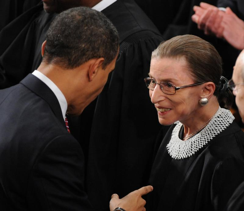 Did Justice Ruth Bader Ginsburg Just Force the Supreme Court to Approve Gay Marriage?