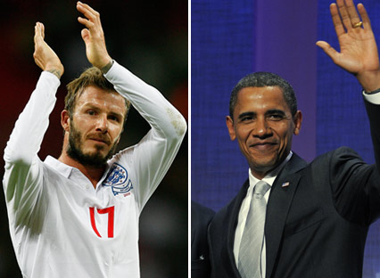 Who Would British Gays Hit On First: David Beckham Or Obama?