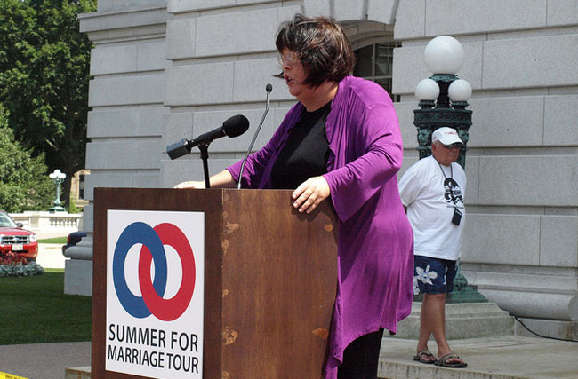 What Maggie Gallagher Doesn't Understand About Prop 8 and America's Founding Fathers