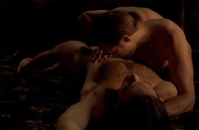 For His Alexander Skarsgard Sex Scene, Theo Alexander Didn't Want to Think Of Him As a Woman