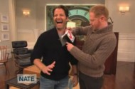 Jesse Tyler Ferguson Invents a New Hanky Code With Nate Berkus