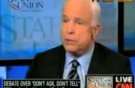John McCain + Lindsey Graham Require National Television To Convince Themselves DADT Is Good For America