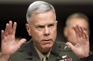 Gen. James Amos: Repealing DADT Might Maim Marines, But I'll Do It Anyway