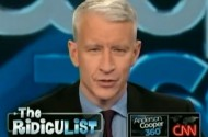 Anderson Cooper Stands Up For Men Who Cry In Public