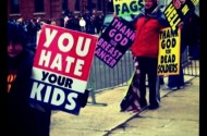 Westboro Baptist Discovers Cool iPhone Camera Effects Just In Time For Elizabeth Edwards' Funeral