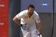 This Is Hugh Jackman Getting Nailed In The Nuts During a Cricket Game