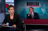 Obama: 'Not Everybody Agrees With Us.' Namely, Rachel Maddow, Y'all