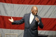 Herman Cain Beats Fred Karger To Become GOP's First Official Presidential Candidate