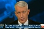 Anderson Cooper Doesn't Want A Family Shield To Ever Cover His Pretty Face