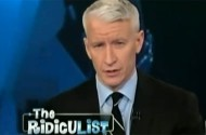 And How Does Anderson Cooper Know America's Homosexuals Didn't Kill Those Birds?