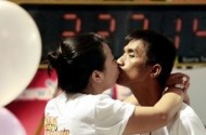 Straight Thai Couple Conquer Gay Jersey College Students' Longest Kiss Record