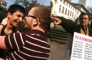 Watch: Wonderful University of Texas Homosexuals Make Out For The Evangelist