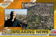 Anderson Cooper Takes A Beating From Egypt's Hosni Mubarak Sympathizers