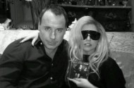 Elton John + David Furnish Agree To Let Lady Gaga Godmother Their Little Monster