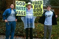 Westboro Responds To Anonymous: God Hates Fags, And Hackers Now Too