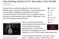 So The New York Times Just Invented The 'Gaying It Up' Trend Among Asylum Seekers?