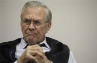 Donald Rumsfeld's Claim Of Knowing Where Iraq's WMDs Were Was Just A 'Misstatement'