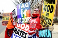 Westboro Baptist Church Adds 'Fag Hag' Liz Taylor's Funeral To Spring Tour