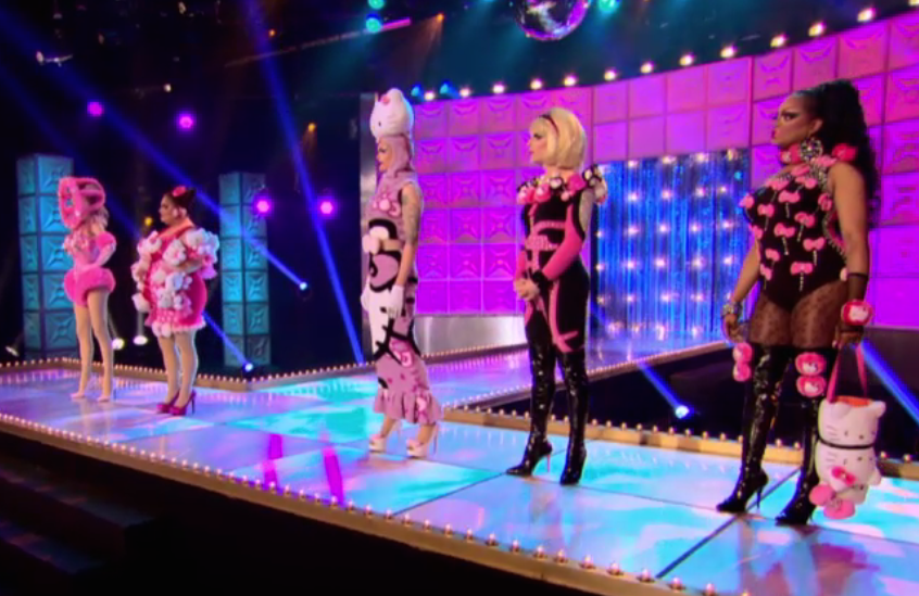 "Fan Favorite Poll: RuPaul's Drag Race Season 7- Episode 11 ""Hello, Kitty Girls!"""