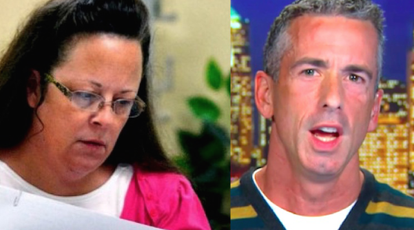 Kim Davis Will Soon Be A Martyr Rolling In Cash, Predicts Dan Savage