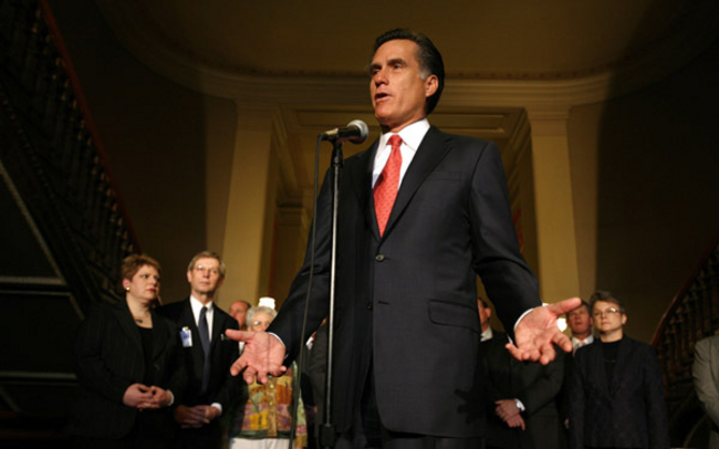 Mitt Talks Gay