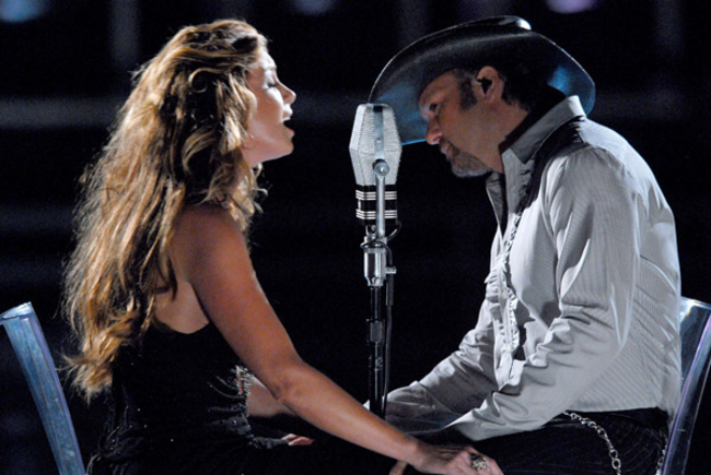 Happy Endings: The Day Faith Hill Defended Tim McGraw's Balls