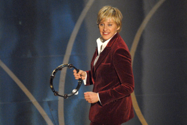 Ellen Gets New, One-Off Gig