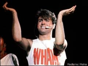 George Michael Gets On His Knees To Do Good