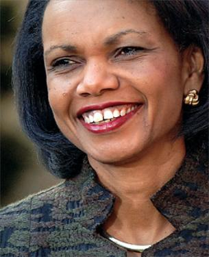 condi ricer Condoleezza Rice: Iraq Invasion Inspired Arab Spring