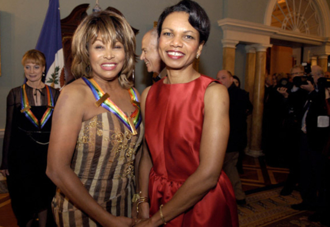 Condoleezza Rice's alleged