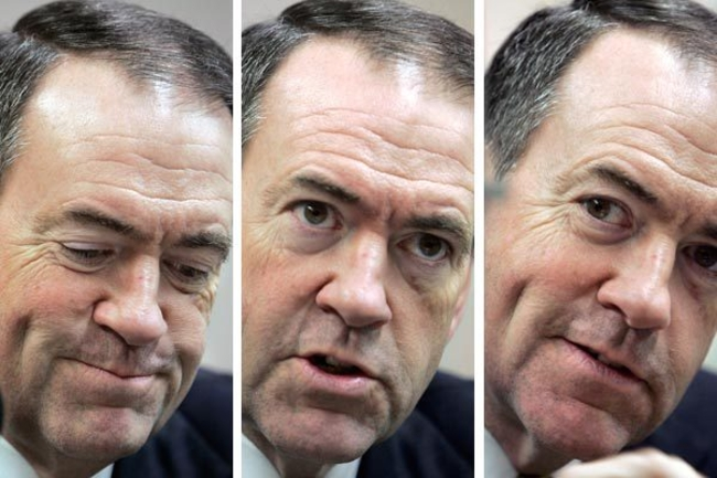How Huckabee's Anonymity Helped Him Rise