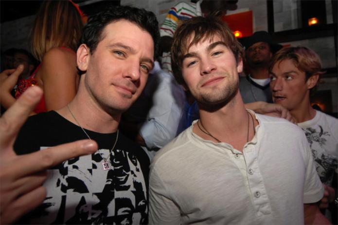 We don't think Chace Crawford and JC Chasez are fucking, but we bet at  least one of them comes out next year.