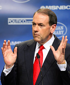 "Huckabee ""Willing"" To Meet White's Mother"