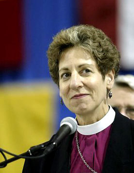Schori Calls Out Gay Shy Anglicans
