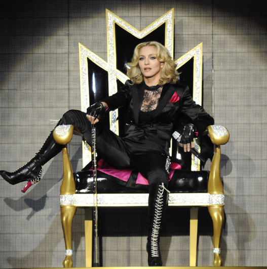 Madonna Takes New York