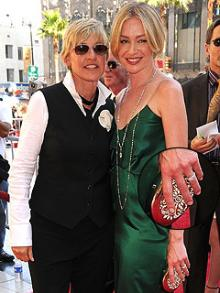 Emmy-Winning Ellen Buys Pink Diamonds For Portia