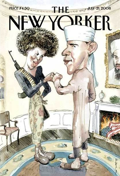 Did The New Yorker Go Too Far With Obama Cover?