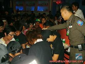 Thai Police Raid Gay Club