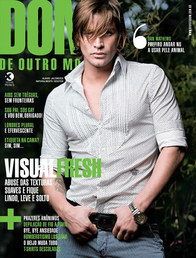 Case in point: DOM magazine, one of Brazil's leading gay publications is ...