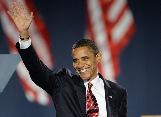 Barack Obama Elected President Of The United States